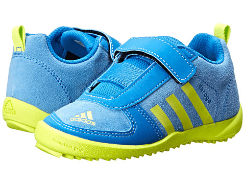 adidas Outdoor Kids - Daroga Leather CF (Infant/Toddler) (Lucky Blue/Semi Solar Yellow/Bright Royal) Kids Shoes