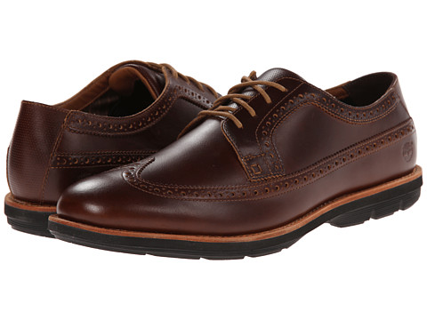 Timberland - Earthkeepers Kempton Brogue Oxford (Brown Full Grain) Men's Shoes