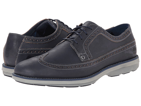 Timberland - Earthkeepers Kempton Brogue Oxford (Navy Full Grain) Men