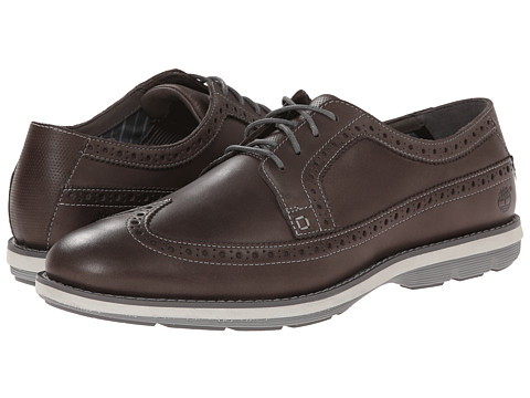 Timberland - Earthkeepers Kempton Brogue Oxford (Grey Nubuck) Men's Shoes