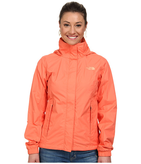 The North Face - Resolve Jacket (Emberglow Orange) Women