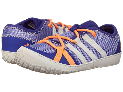 adidas Outdoor Kids - Boat Lace (Infant/Toddler) (Light Purple/Chalk White/Semi Night Flash) Girls Shoes