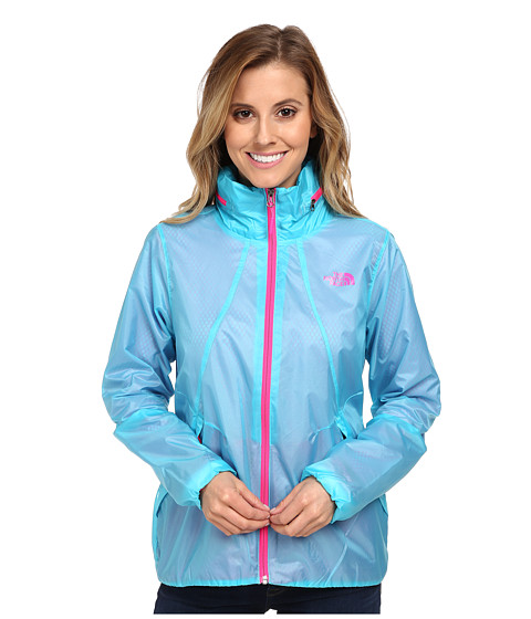 The North Face - Flyweight Lined Jacket (Fortuna Blue) Women's Coat