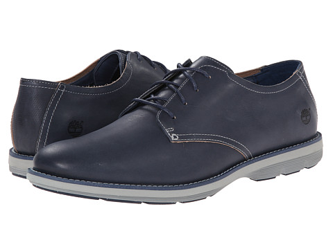 Timberland - Earthkeepers Kempton Oxford (Navy Full Grain) Men