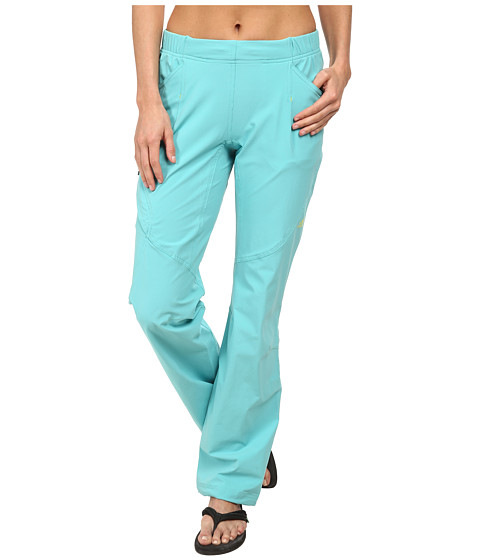 adidas Outdoor - Hiking Pack-It Pant (Vivid Mint) Women
