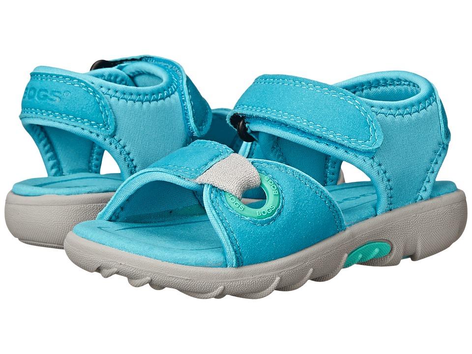 Bogs Kids - Yukon Sandal (Toddler/Little Kid) (Aqua Multi) Kids Shoes