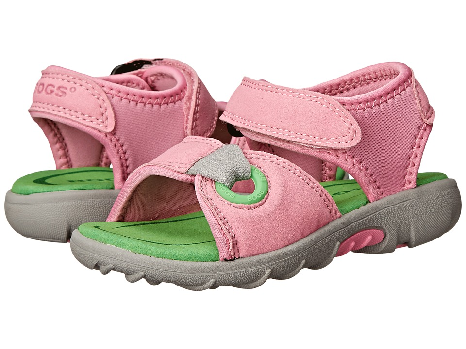 Bogs Kids - Yukon Sandal (Toddler/Little Kid) (Pink Multi) Girls Shoes