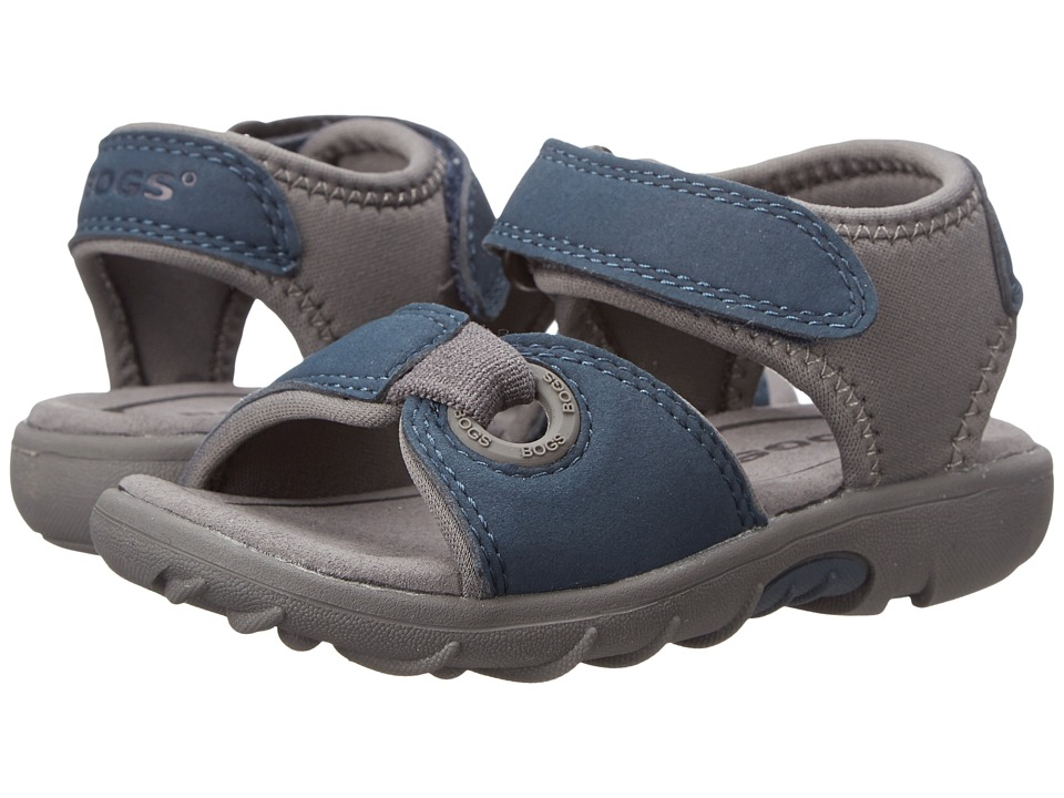 Bogs Kids - Yukon Sandal (Toddler/Little Kid) (Navy Multi) Boys Shoes