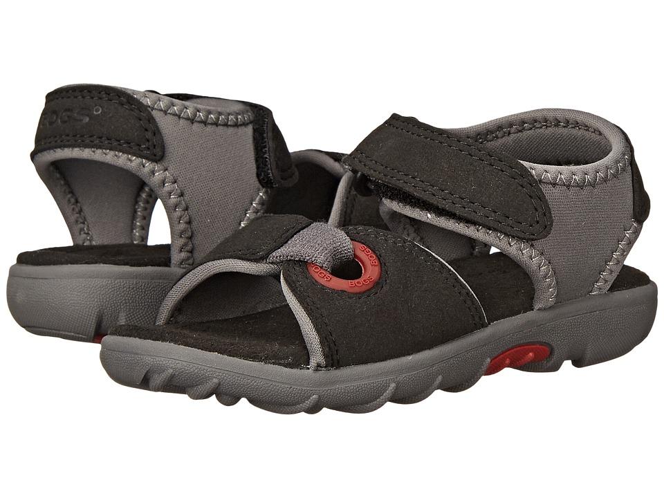 Bogs Kids - Yukon Sandal (Toddler/Little Kid) (Black Multi) Boys Shoes