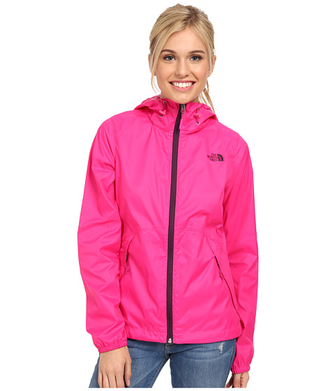 The North Face - Flyweight Hoodie (Glo Pink/Glo Pink) Women's Coat