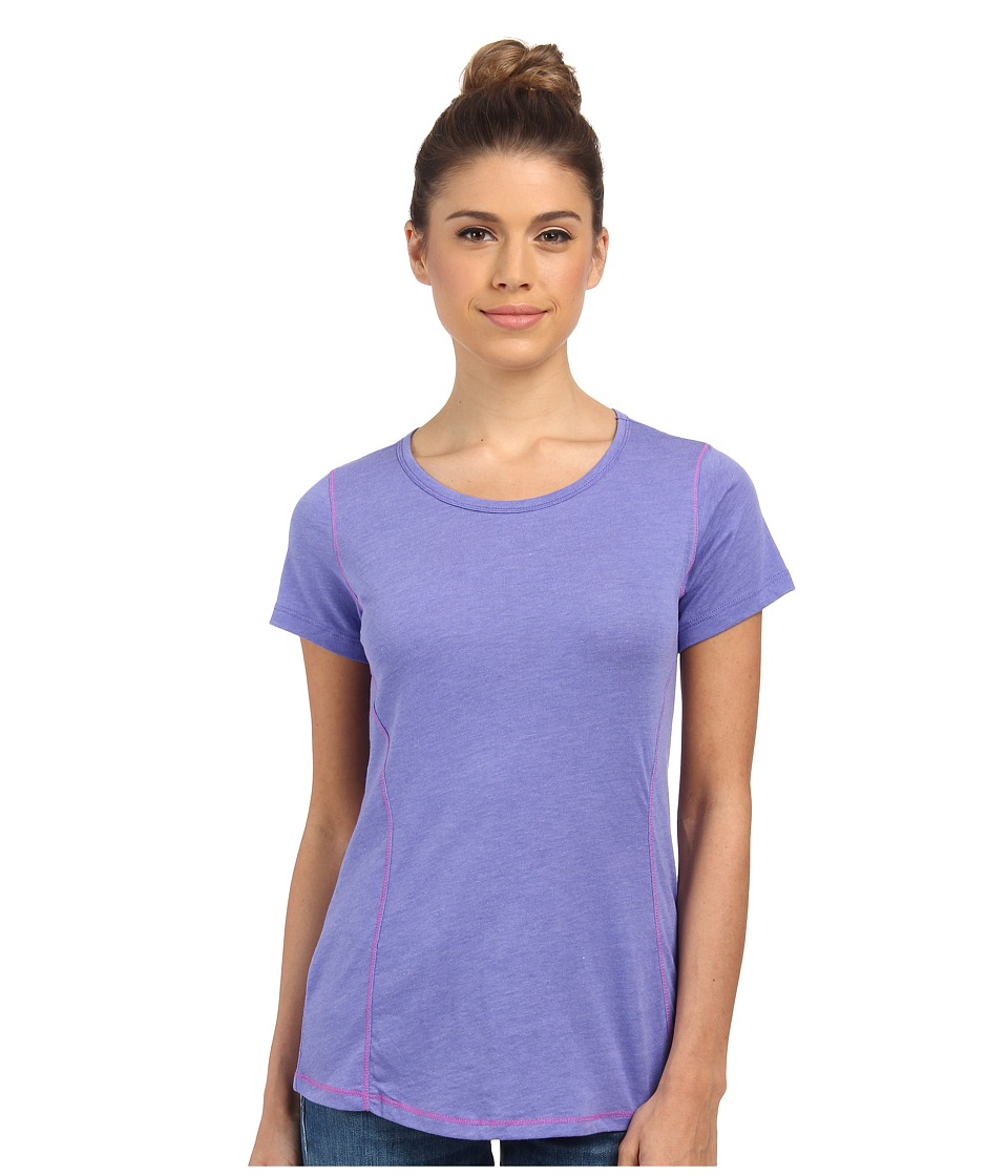 Columbia - Everything She Needs Crew Neck Tee (Purple Lotus Heather) Women's T Shirt
