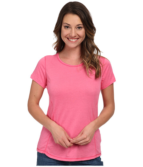 Columbia - Everything She Needs Crew Neck Tee (Tropic Pink) Women's T Shirt