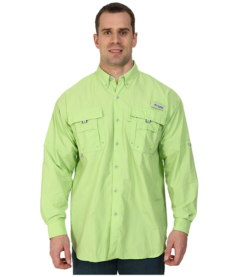 Columbia - Bahama II Long Sleeve Shirt - Tall (Jade Lime) Men's Long Sleeve Button Up