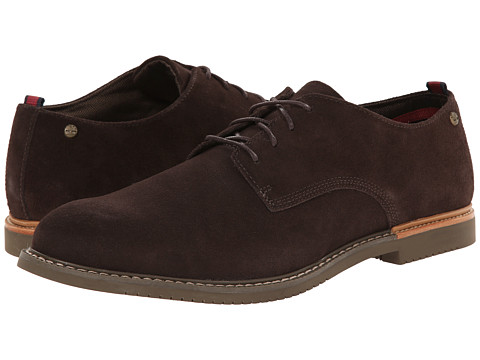 Timberland - Earthkeepers Brook Park Oxford (Dark Brown Suede) Men
