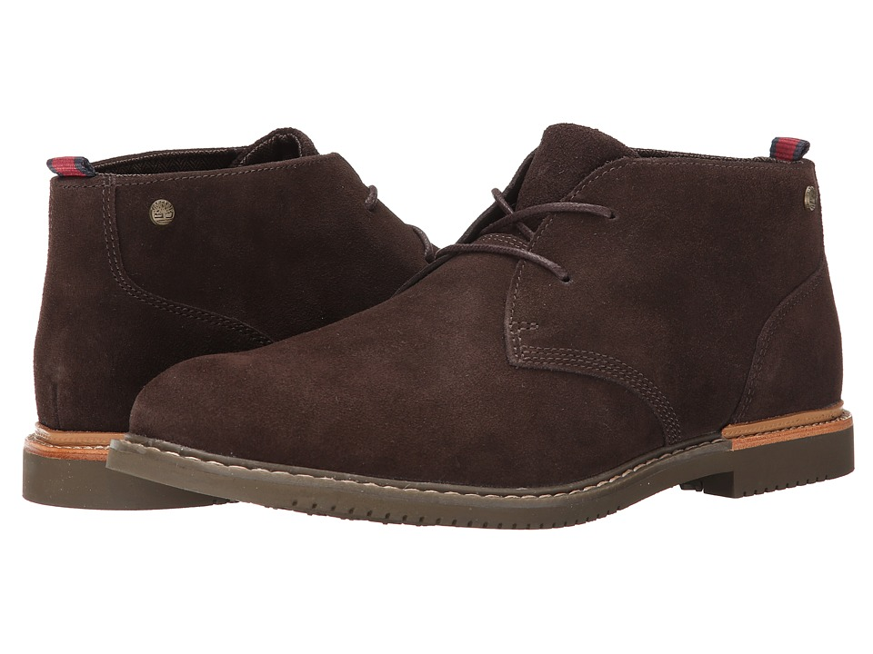 Timberland - Earthkeepers Brook Park Chukka (Dark Brown Suede) Men
