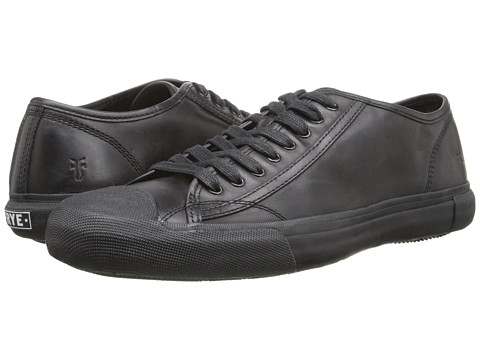Frye - Ryan Low Lace (Black Antique Pull Up) Men's Lace up casual Shoes