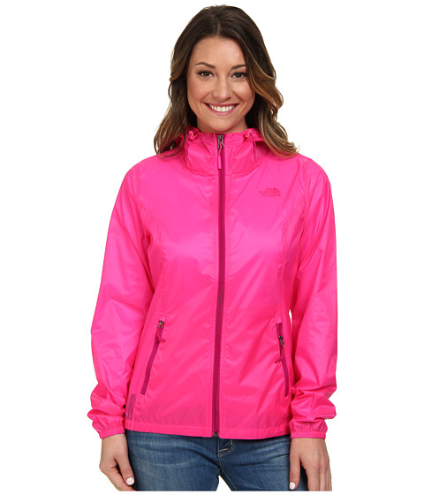 The North Face - Cyclone Hoodie (Glo Pink) Women's Coat