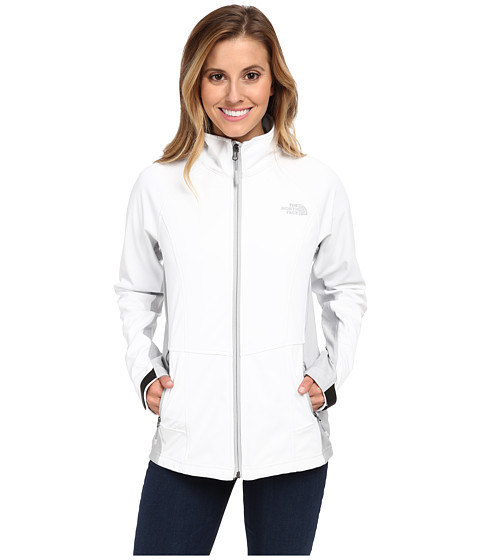 The North Face - Cipher Hybrid Jacket (TNF White/High Rise Grey) Women's Jacket