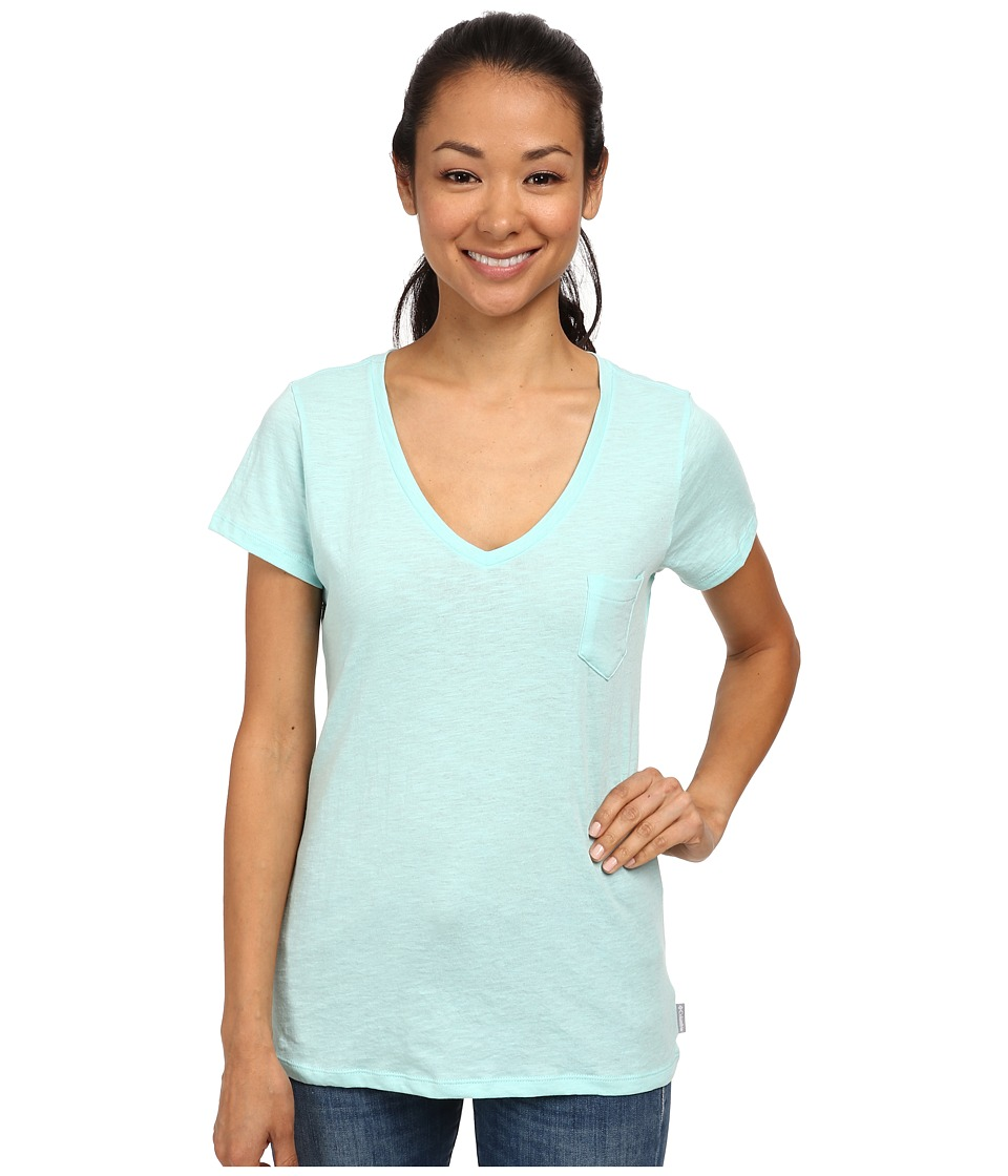 Columbia - Everyday Kenzie V-Neck Tee (Candy Mint) Women