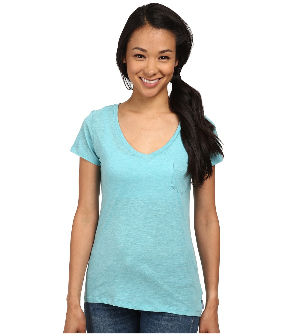 Columbia - Everyday Kenzie V-Neck Tee (Geyser Heather) Women