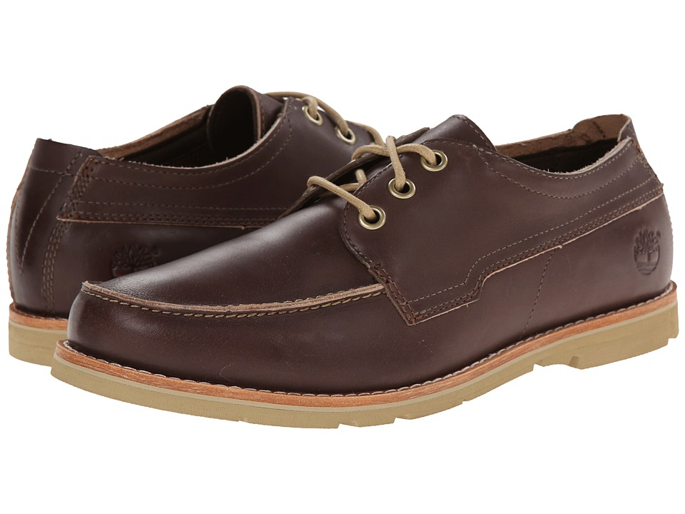 Timberland - Earthkeepers Rugged LT Oxford (Brown Full Grain) Men