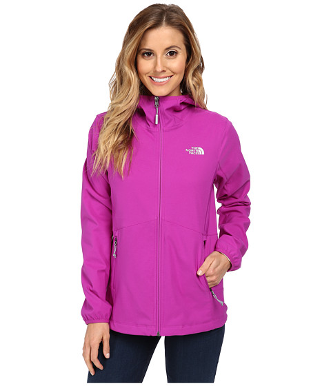 The North Face - Nimble Hoodie (Magic Magenta/Magic Magenta) Women's Coat