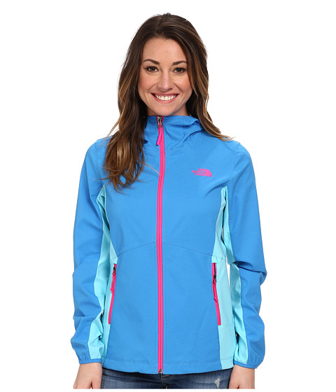 The North Face - Nimble Hoodie (Clear Lake Blue/Fortuna Blue) Women's Coat