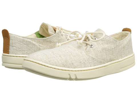 Timberland - Earthkeepers Hookset Handcrafted Fabric Oxford (Natural Linen) Men