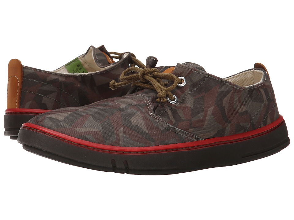 Timberland - Earthkeepers Hookset Handcrafted Fabric Oxford (Camo Canvas) Men
