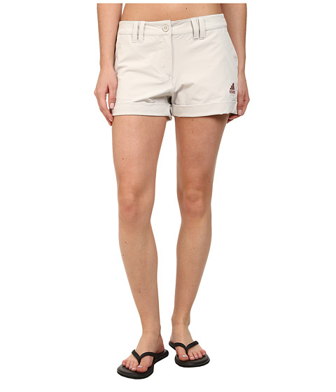 adidas Outdoor - Hiking Stretch Shorts (Pearl Grey) Women