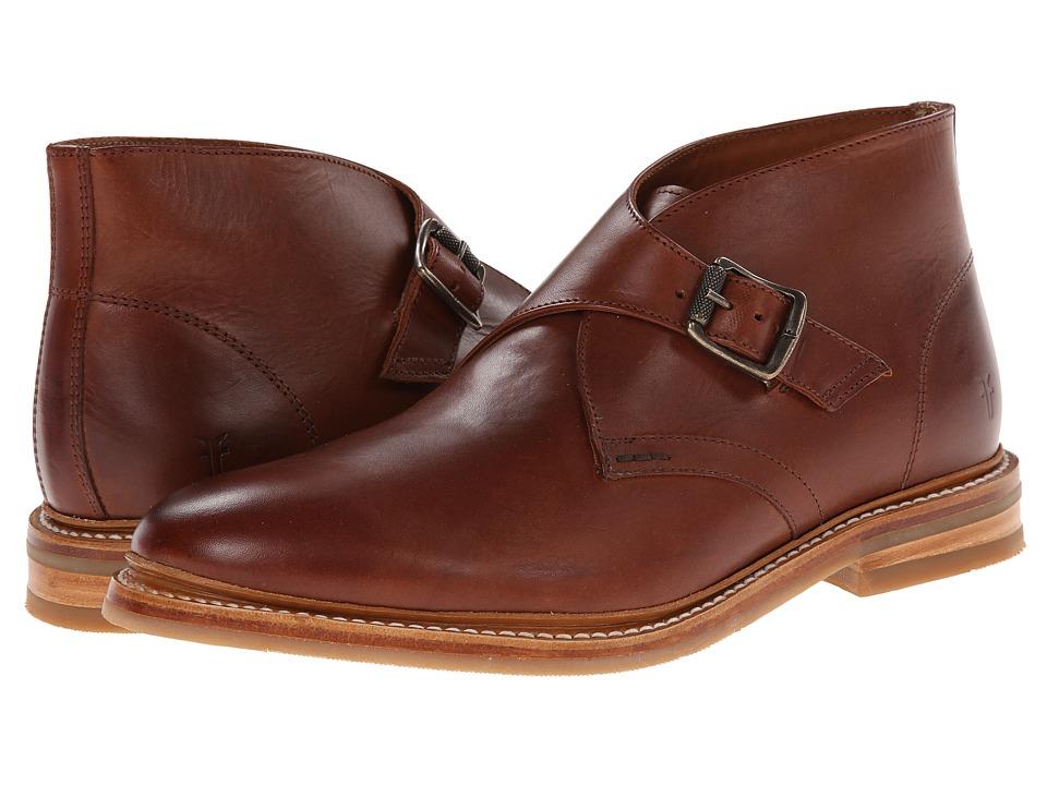 Frye - William Monk Chukka (Redwood Smooth Full Grain) Men's Dress Pull-on Boots
