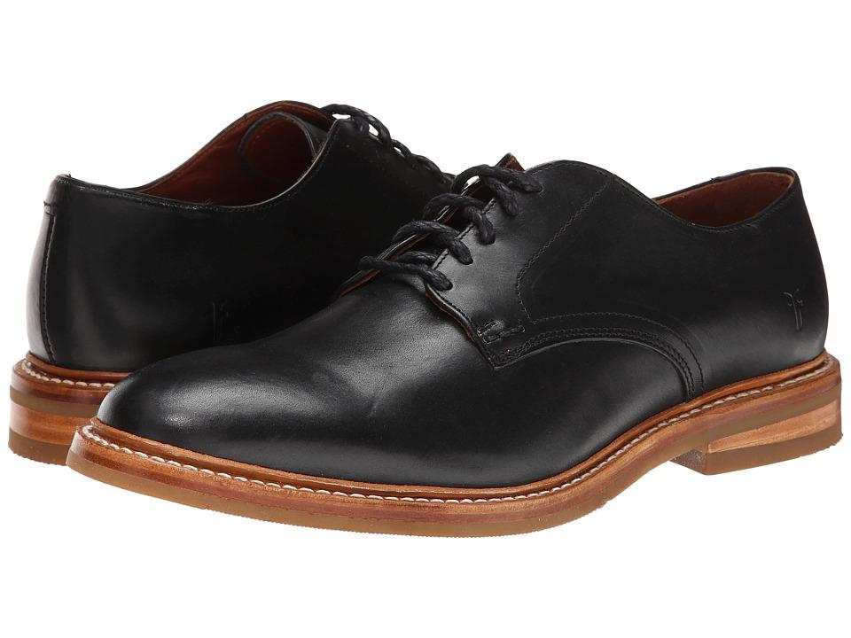 Frye - William Oxford (Black Smooth Full Grain) Men's Plain Toe Shoes