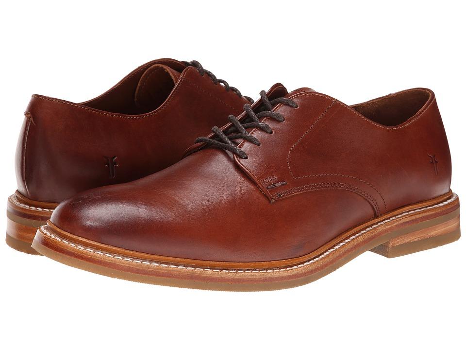 Frye - William Oxford (Redwood Smooth Full Grain) Men's Plain Toe Shoes