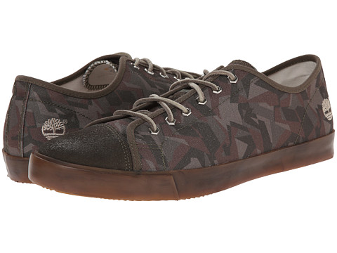 Timberland - Earthkeepers Glastenbury Canvas/Leather Oxford (Camo Canvas) Men's Shoes