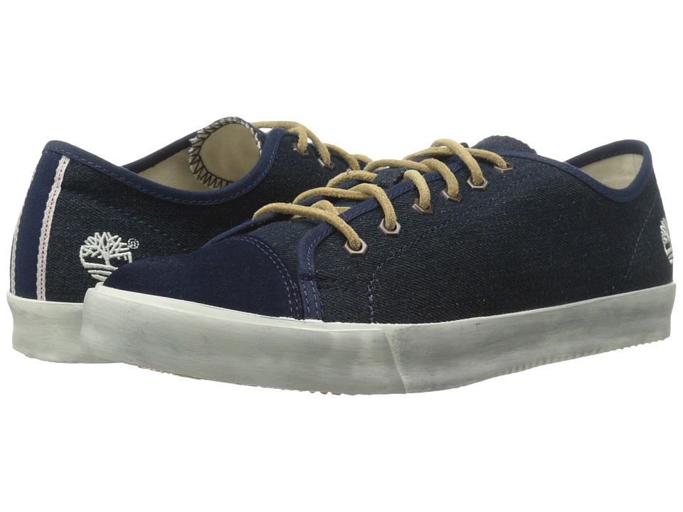 Timberland - Earthkeepers Glastenbury Canvas/Leather Oxford (Navy Denim) Men