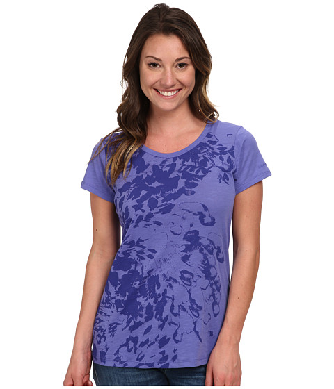 Columbia - Flawless Floral Crew Neck Tee (Purple Lotus) Women's T Shirt