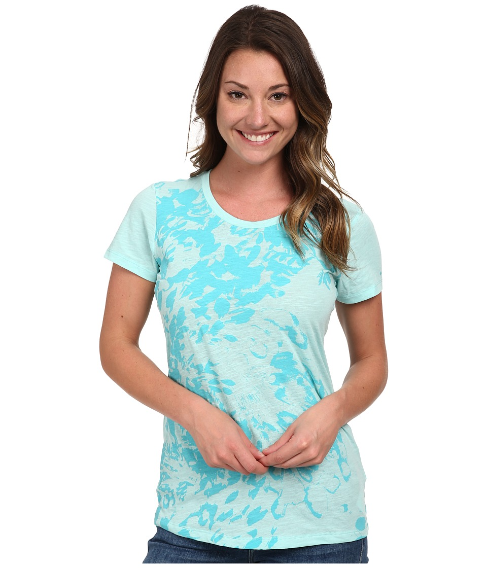 Columbia - Flawless Floral Crew Neck Tee (Candy Mint) Women