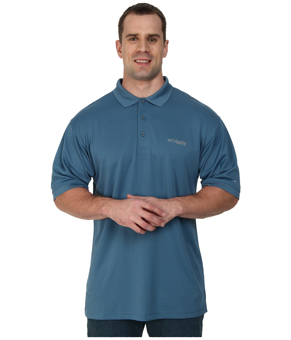 Columbia - Perfect Casttm Polo - Extended (Blue Heron) Men's Clothing