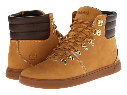 Timberland - Groveton Alpine Hiker (Wheat Nubuck with Chocolate) Men