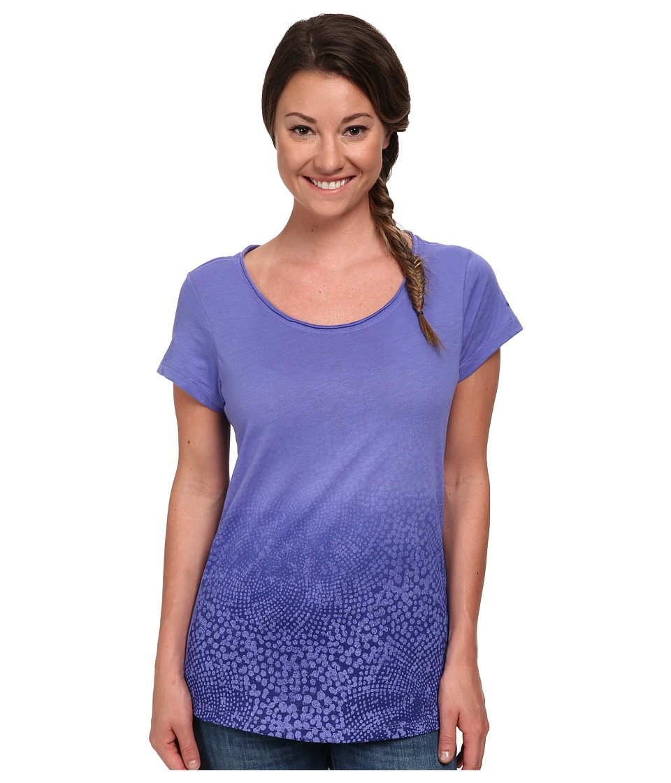 Columbia - Horizons Scoop Neck Tee (Purple Lotus) Women's Short Sleeve Pullover