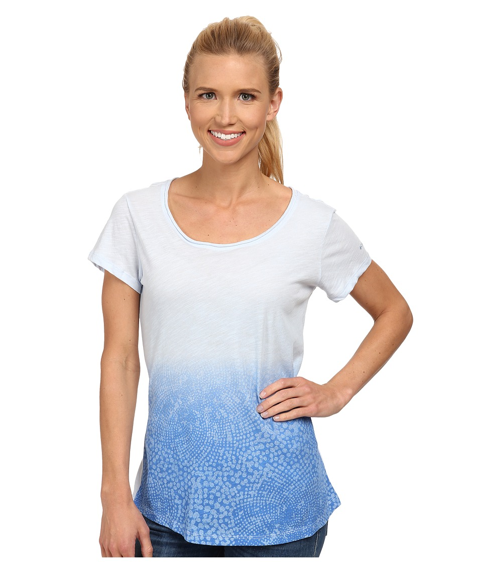 Columbia - Horizons Scoop Neck Tee (Air) Women's Short Sleeve Pullover