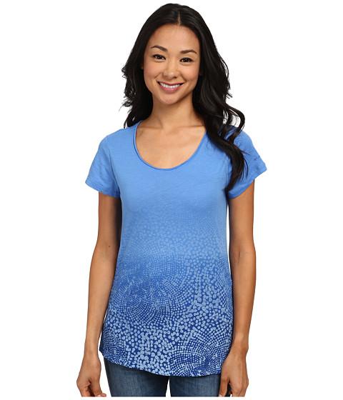 Columbia - Horizons Scoop Neck Tee (Harbor Blue) Women's Short Sleeve Pullover