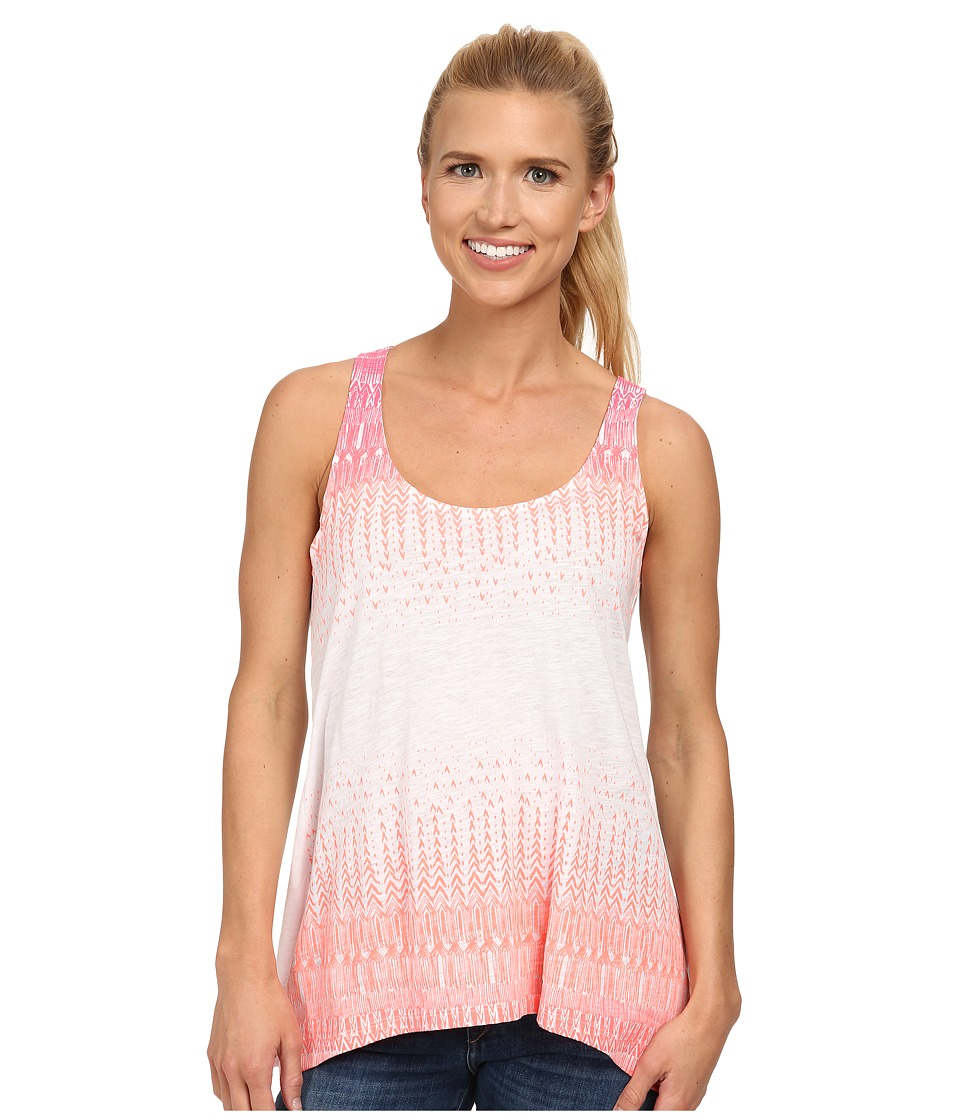 Columbia - Breezy Tank (Coral Flame) Women's Sleeveless