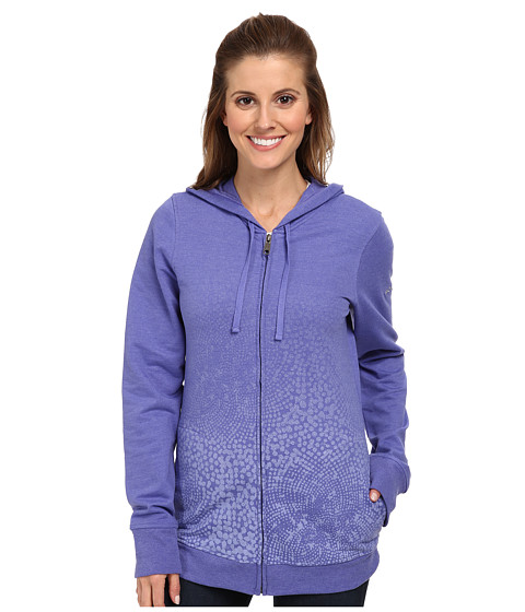 Columbia - Spotted Ombre Full-Zip Hoodie (Purple Lotus) Women