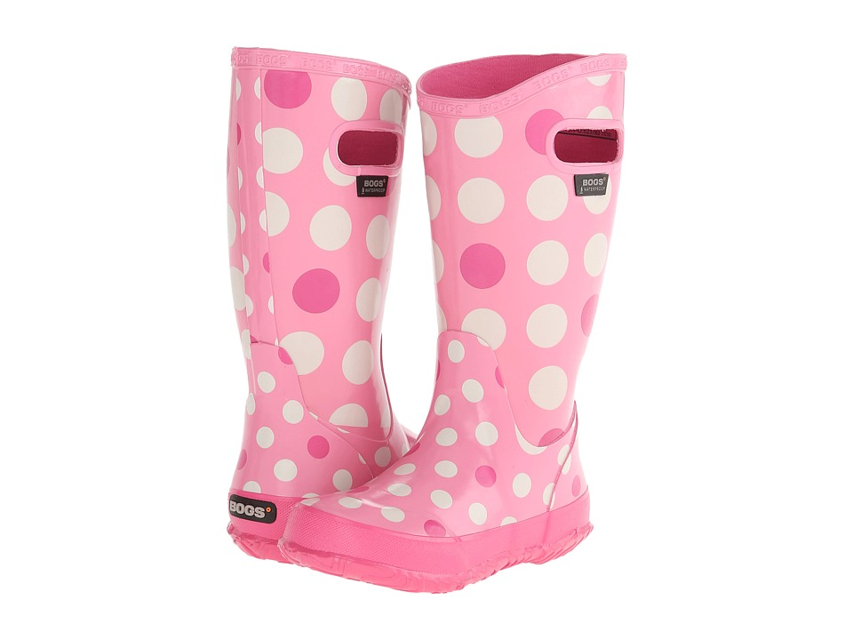 Bogs Kids - Dots (Toddler/Little Kid/Big Kid) (Pink Multi 2) Girls Shoes