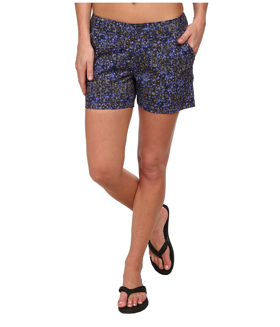 Columbia - Kenzie Cove Printed Short (Purple Lotus Ditsy Floral) Women's Shorts
