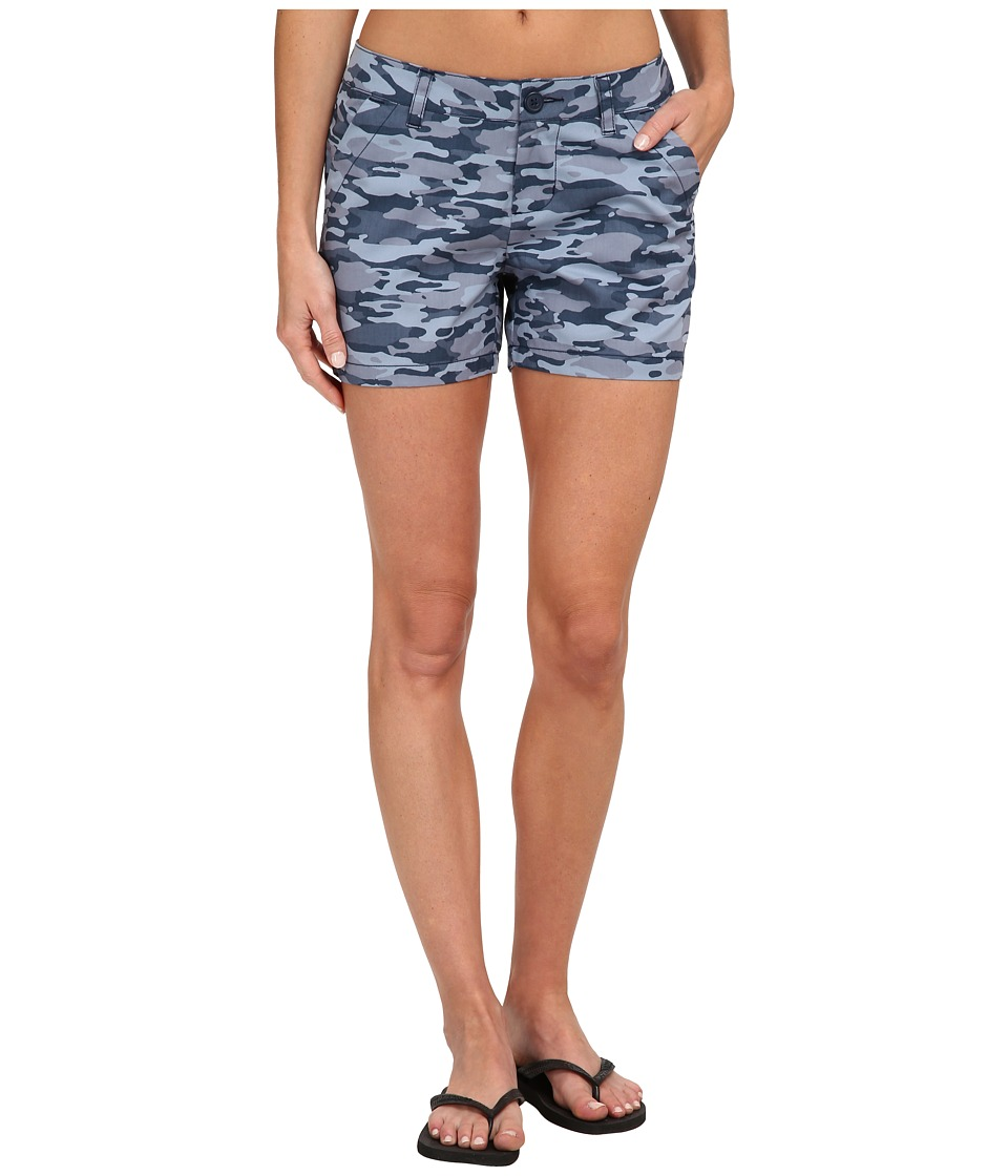 Columbia - Kenzie Cove Printed Short (Collegiate Navy Camo) Women's Shorts