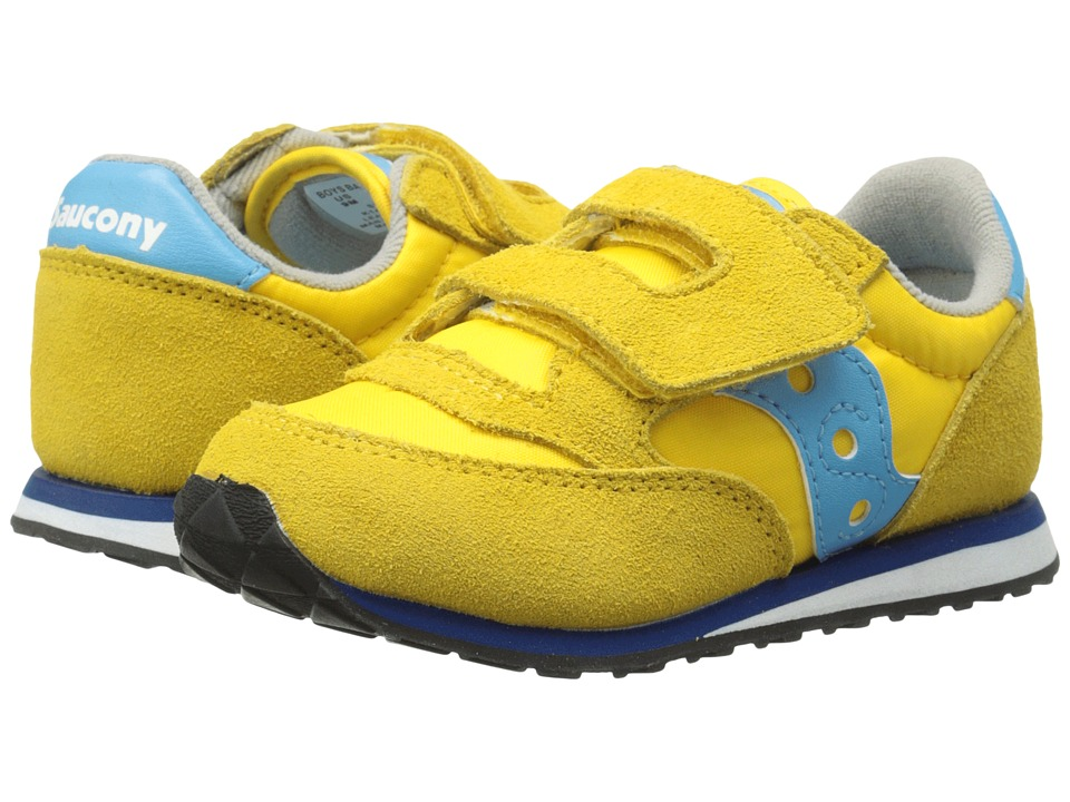 Saucony Kids - Baby Jazz HL (Toddler/Little Kid) (Yellow/Teal) Boys Shoes