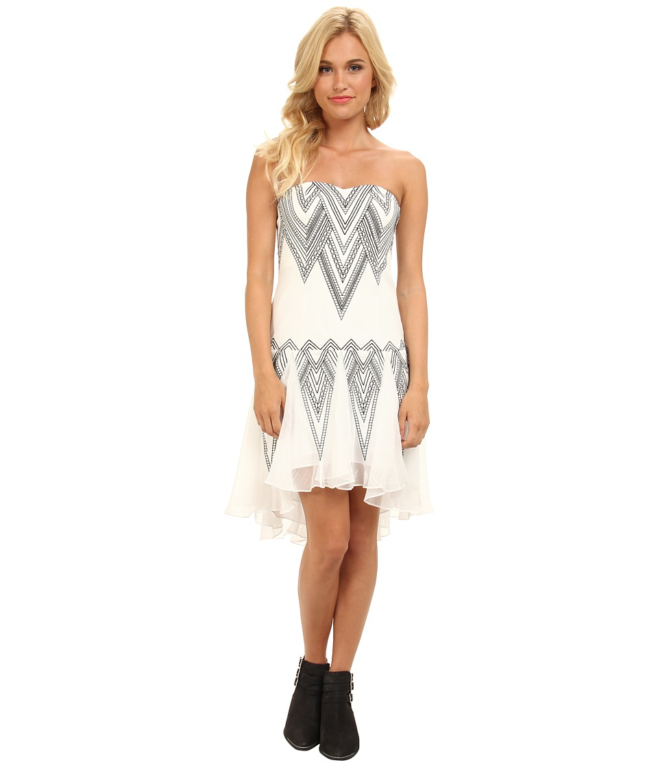 Free People - Radiating Angles Dress (Ivory Combo) Women's Dress