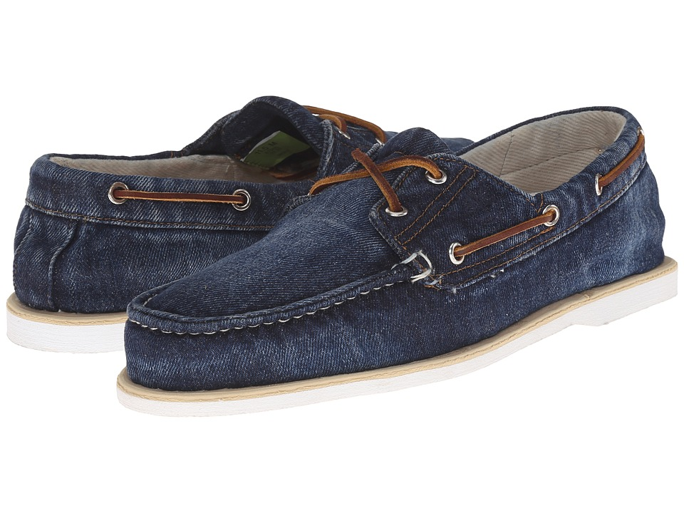 Timberland - Timberland Icon Classic 2-Eye Denim (Blue Denim) Men